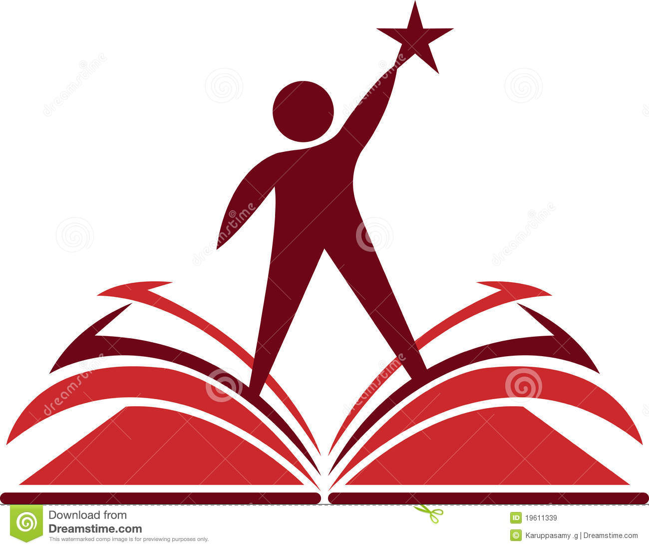 aim book knowledge royalty free stock images image 19611339 open book clip art transparent background open book clipart kids