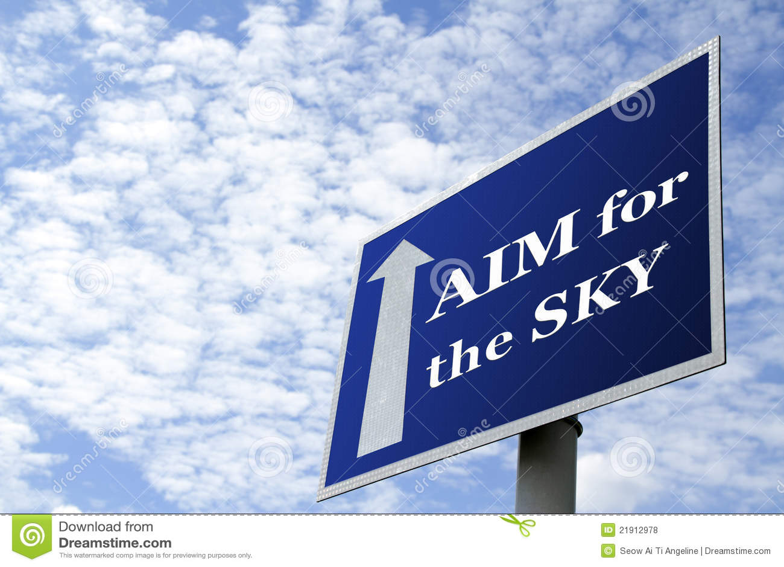 Dream Big! Aim High! Go for the Highest Peak! Beat the