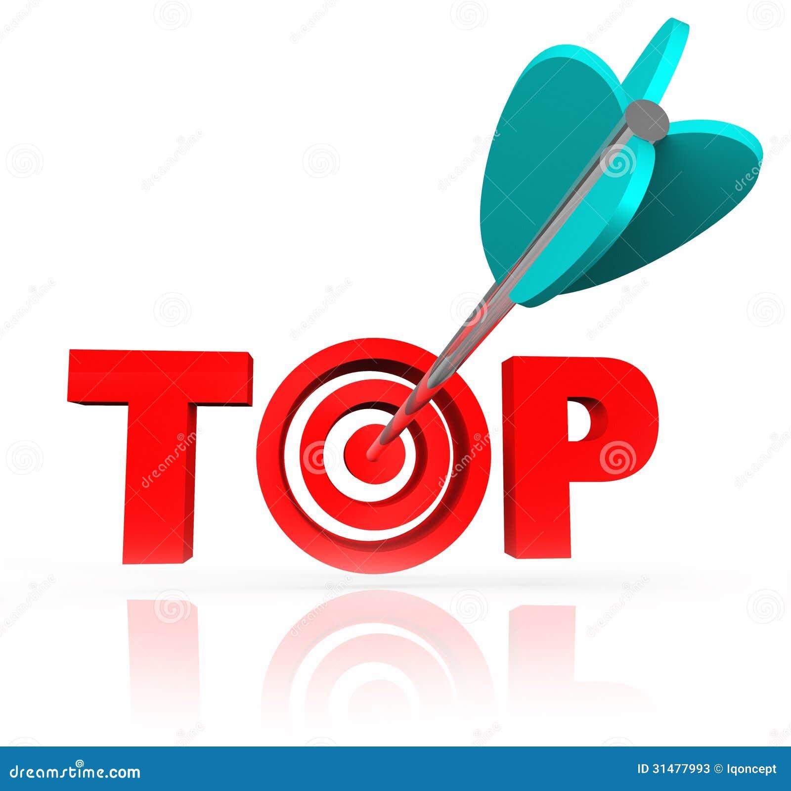 aiming for the top word arrow target bulls eye stock photos image 31477993 bow arrow vector art bow arrow vector icon