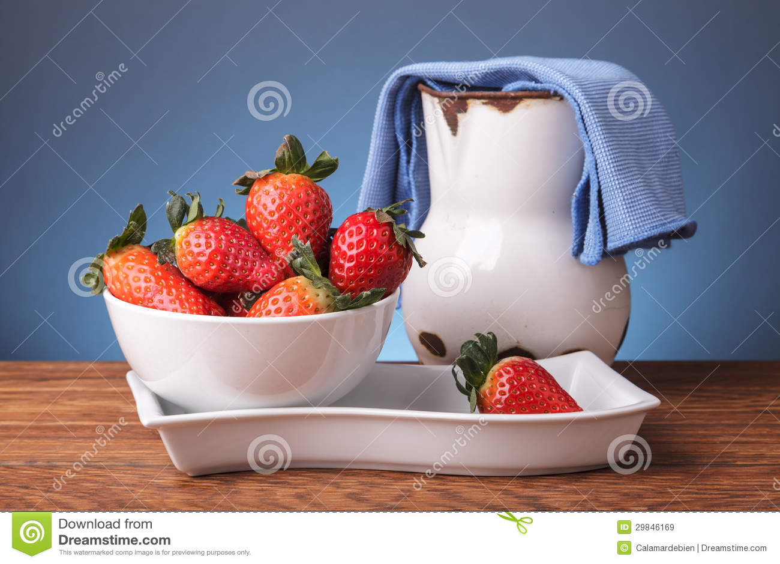 Ainda vida com frutos frescos
