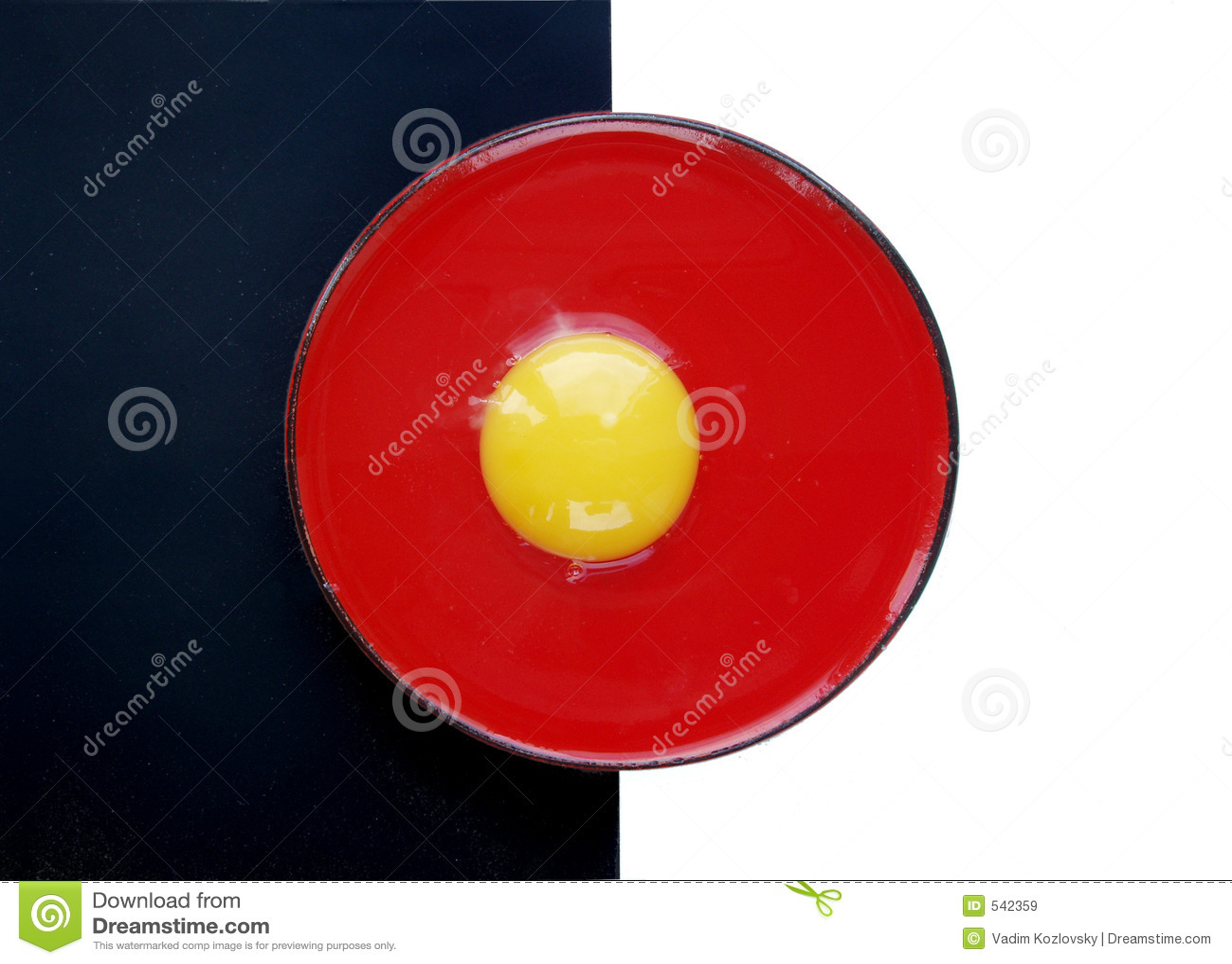 Ainda vida com ovo