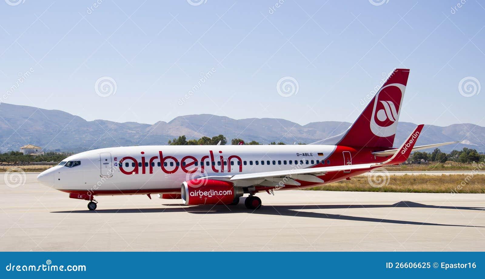 Air Berlin, Boeing 737 - 800 Editorial Image - Image: 26606625