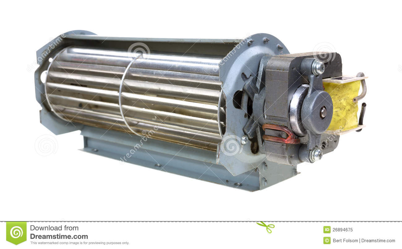 Small Air Blowers : Air blower with small motor royalty free stock photo