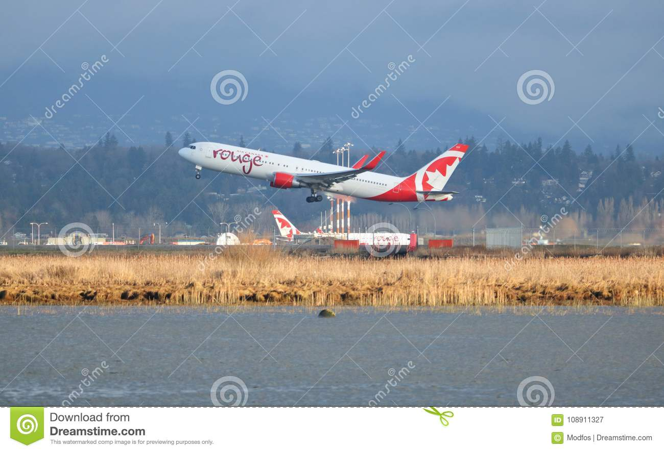 64cc78454901 Air Canada And Low Cost Flying Editorial Photography - Image of ...