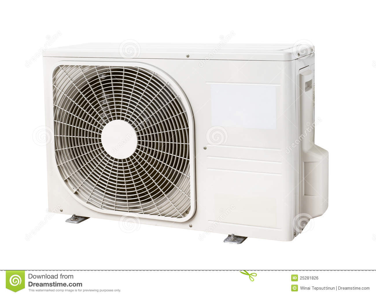 Air Cooler Condenser : Air condenser unit stock photo image of outside