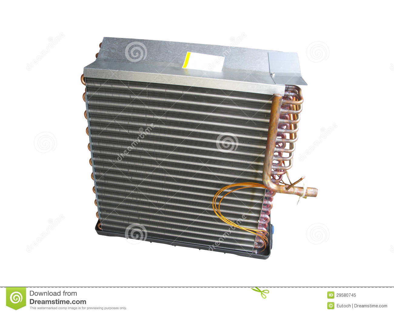 how to change evaporator coil