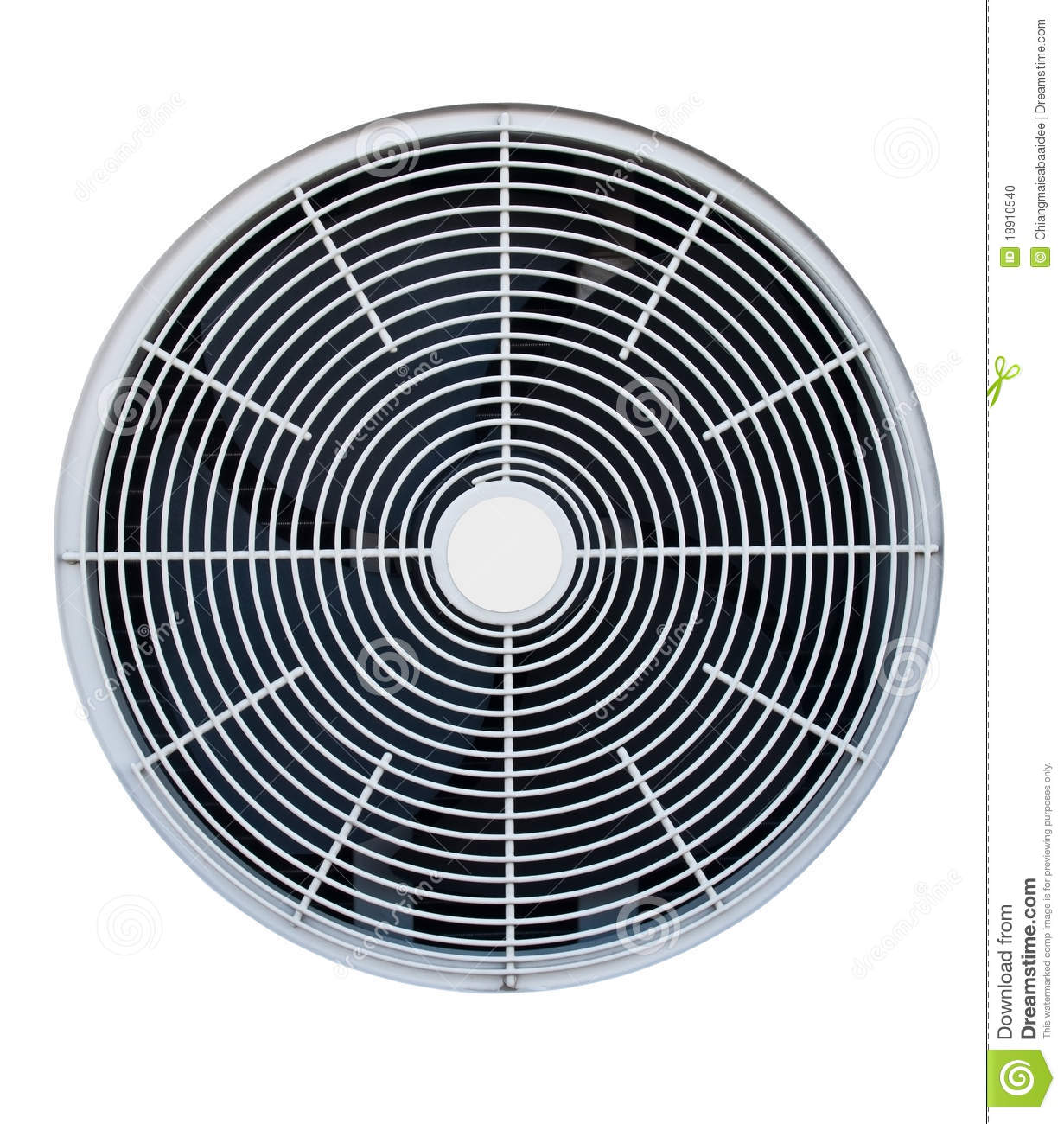 Air Conditioner Fan Isolated Stock Photo Image: 18910540 #82A229