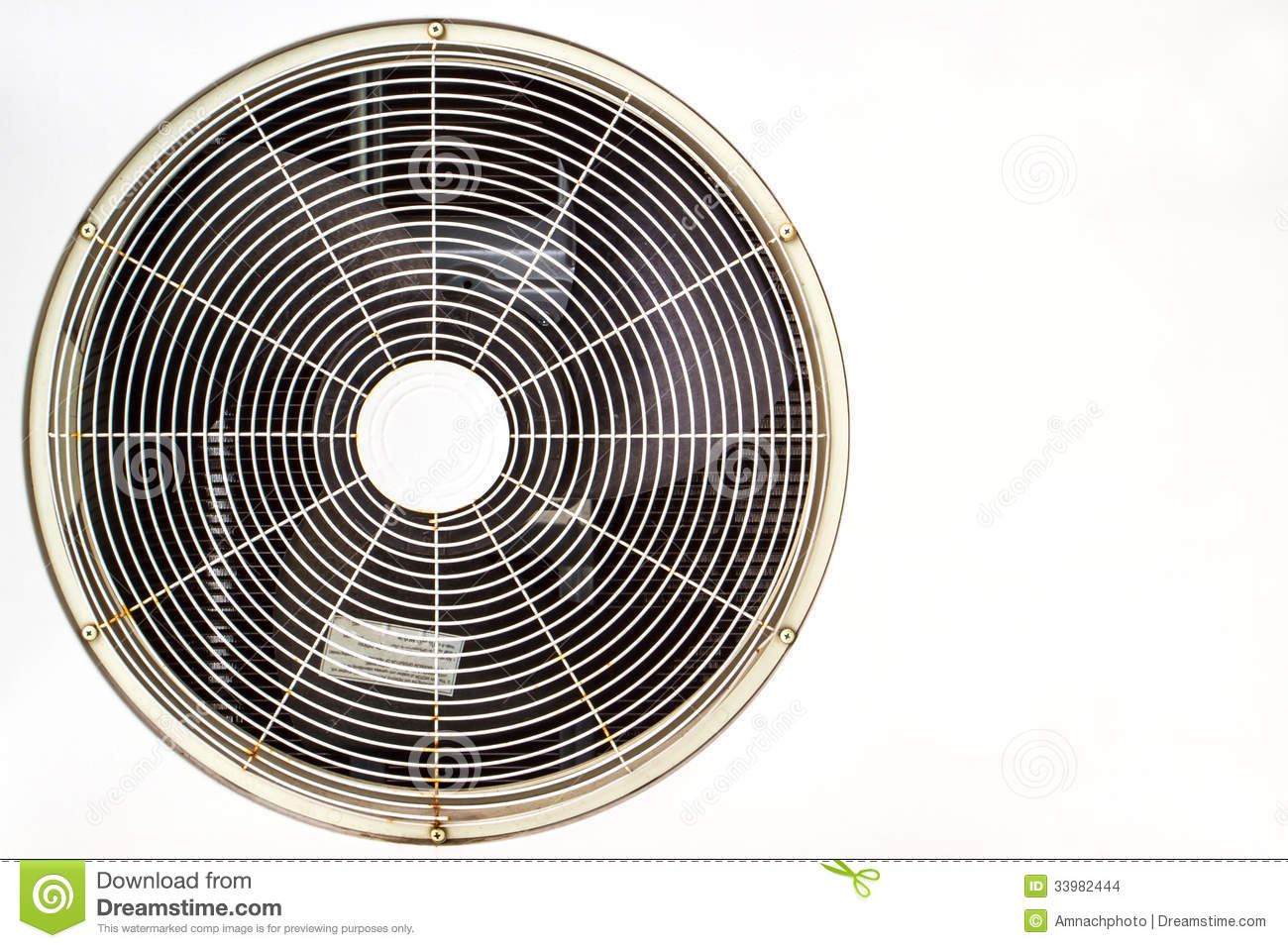 Air Conditioner Fan Stock Images Image: 33982444 #81A229