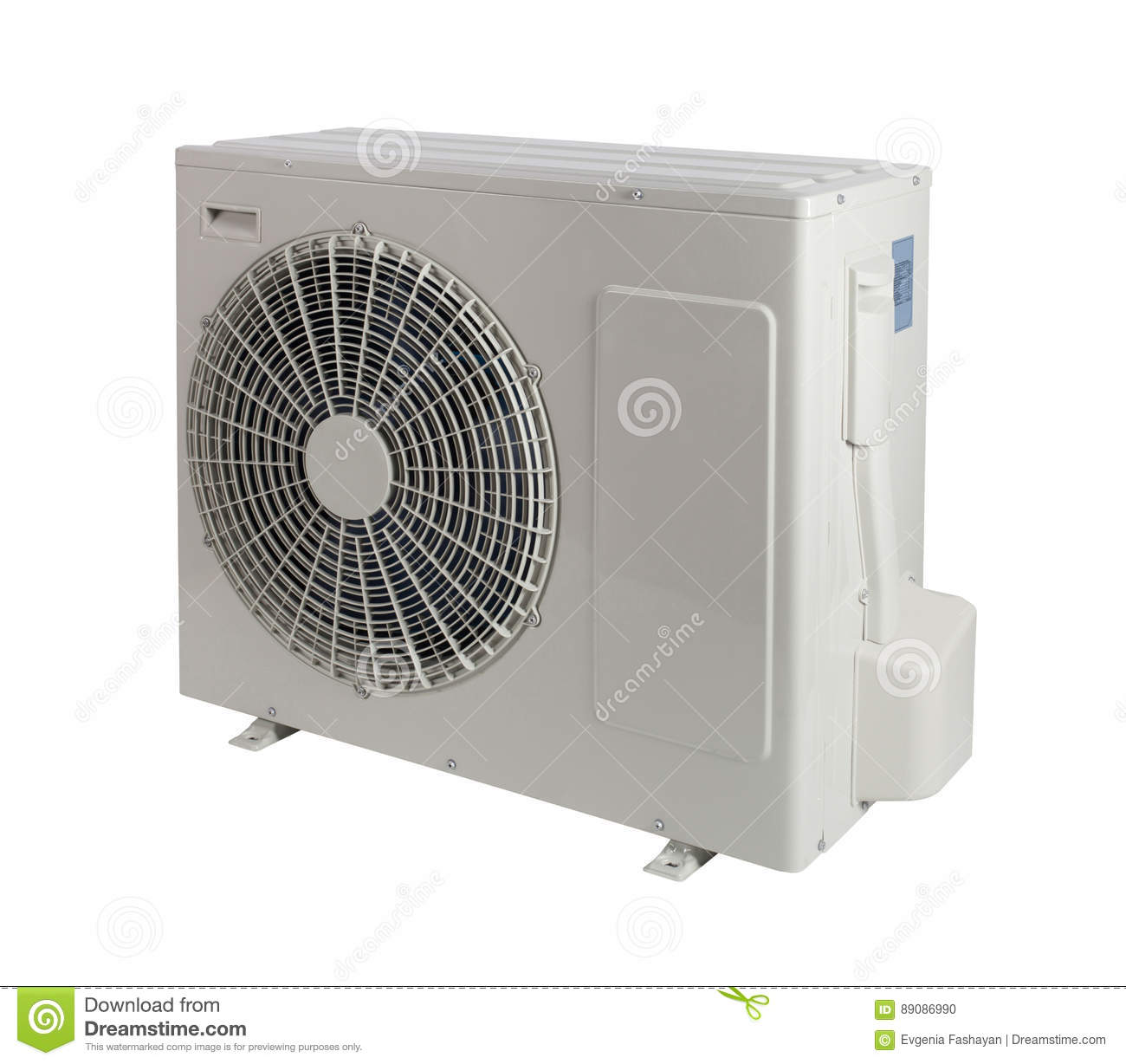 Air conditioner stock photo image 89086990 for Split type ac