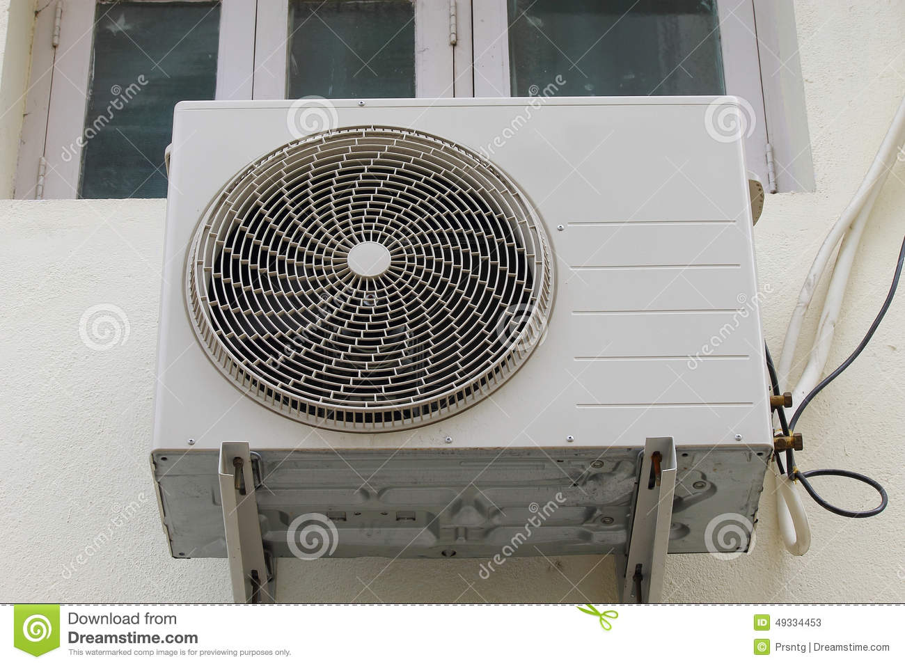 Air Conditioner Outdoor Unit Stock Image Image 49334453