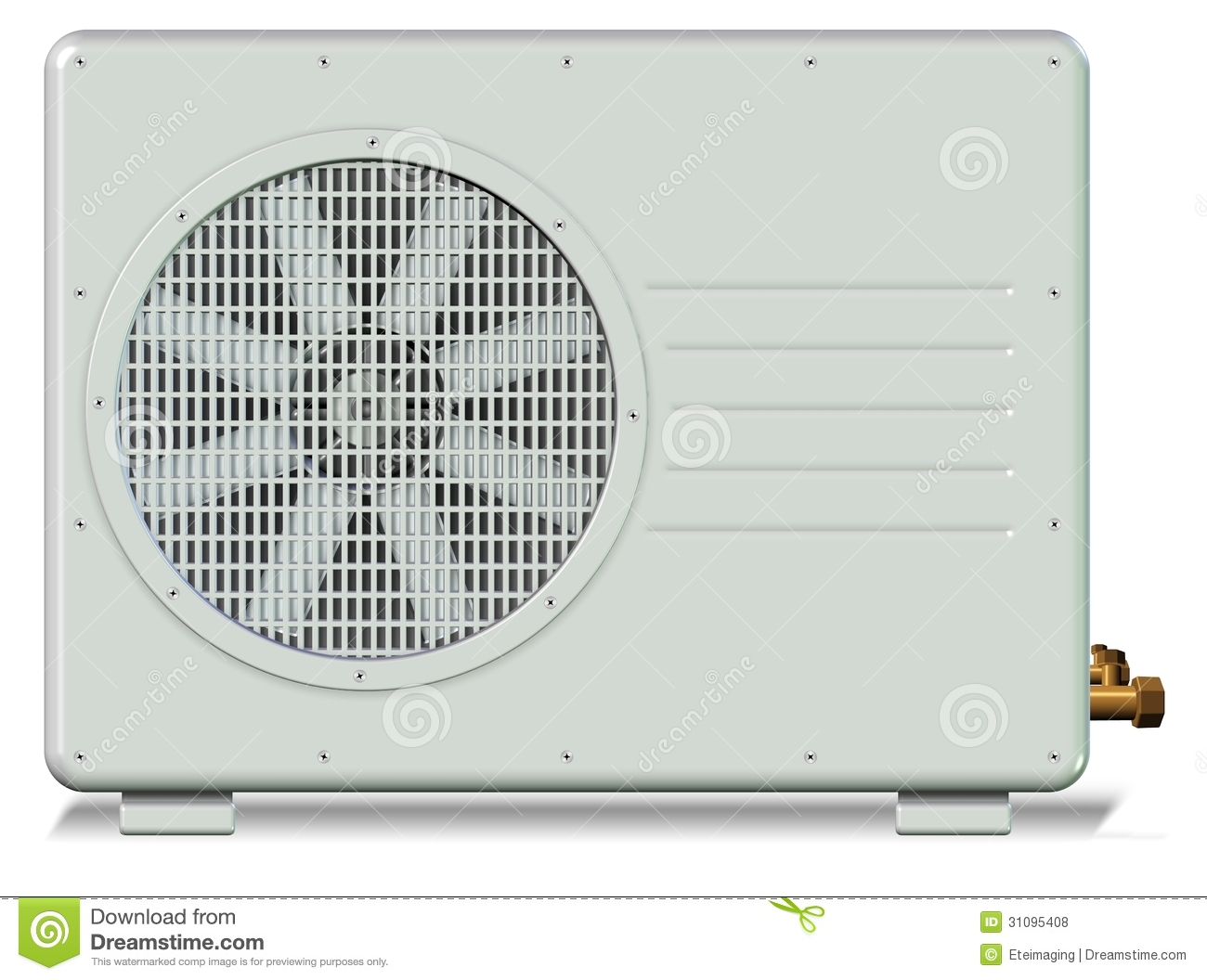 Air Conditioner Royalty Free Stock Photos Image: 31095408 #81A229