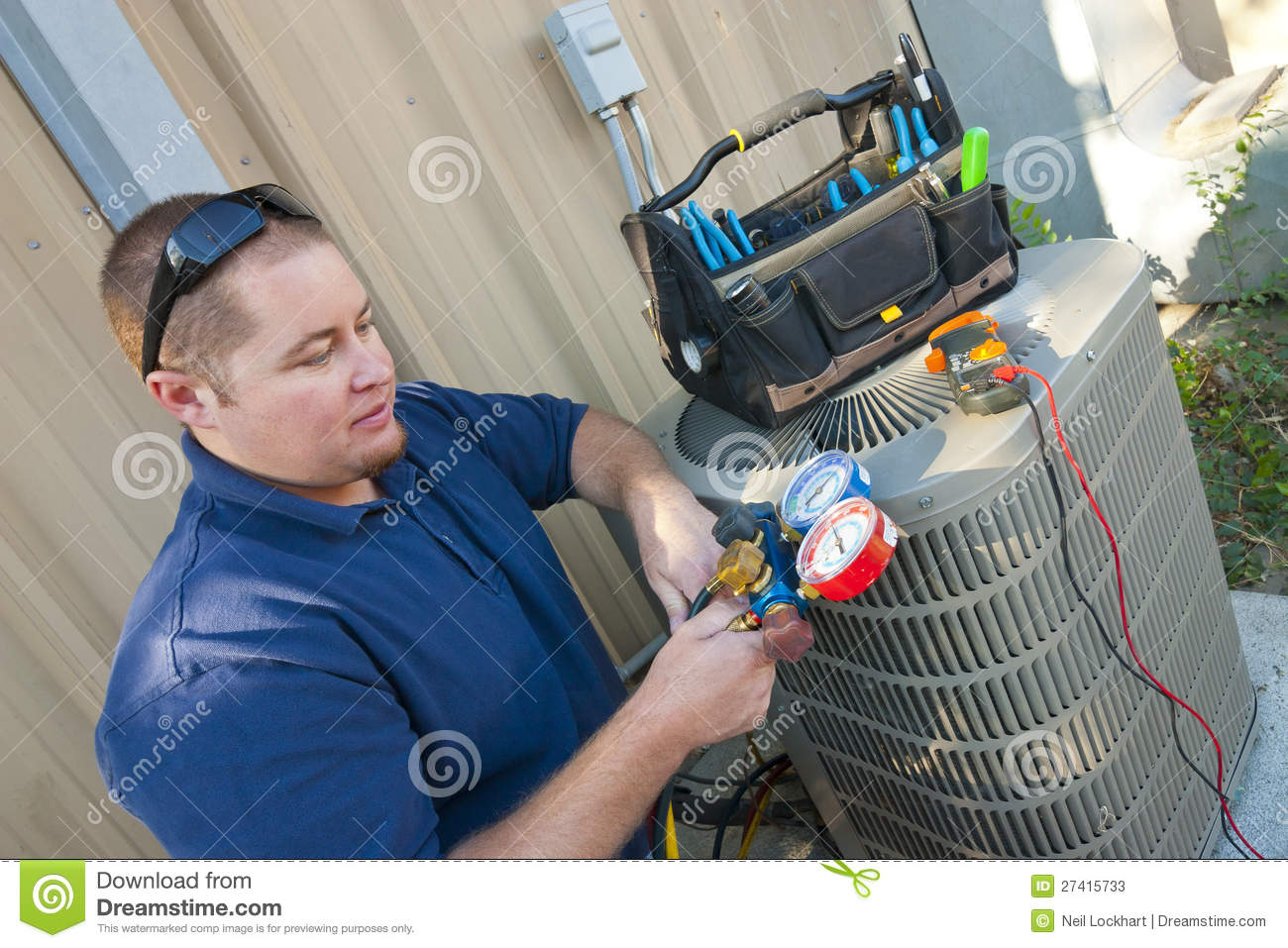 how to become a air conditioning technician