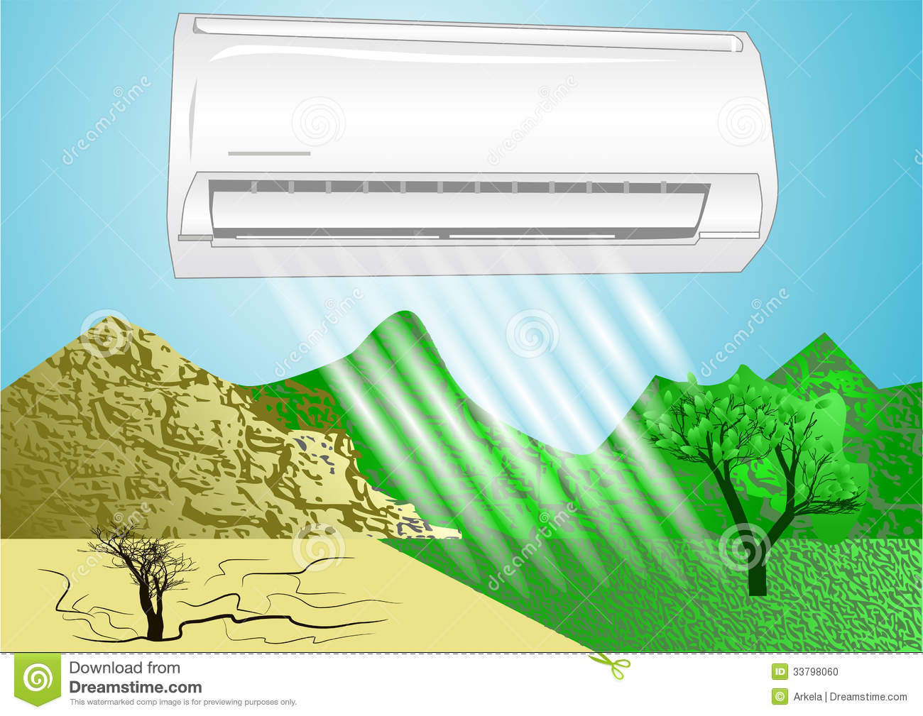#248DA7 Air Conditioner Stock Photo Image: 33798060 Recommended 10377 Air Conditioner Lifespan pics with 1300x1009 px on helpvideos.info - Air Conditioners, Air Coolers and more
