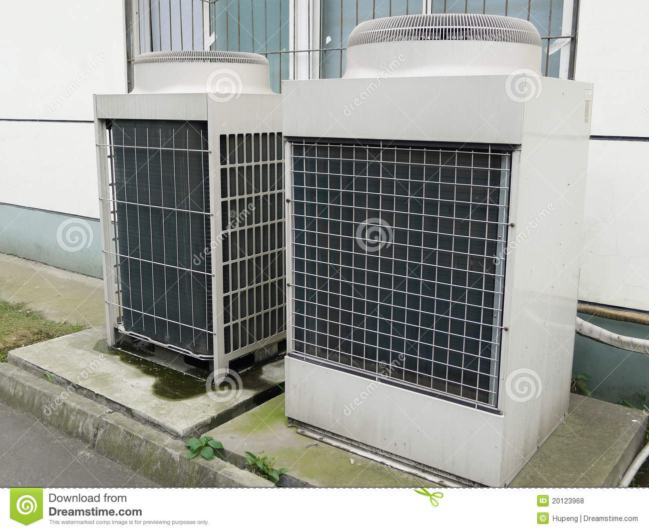 Air Conditioner Unit Royalty Free Stock Photos Image: 20123968 #686B4D