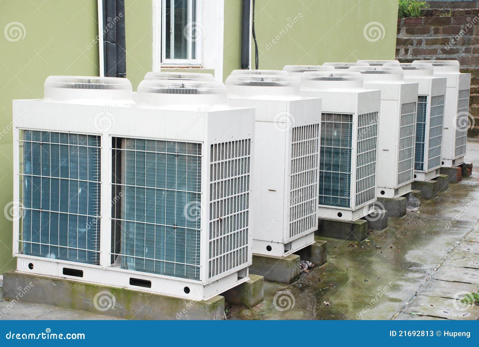 Air Conditioner Unit Stock Photos Image: 21692813 #777F4C