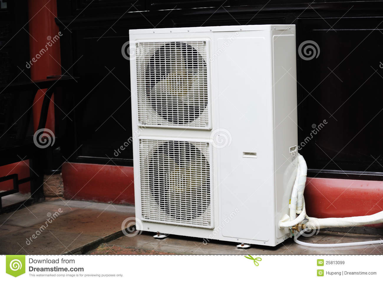 Air Conditioner Unit Stock Image Image Of Blow