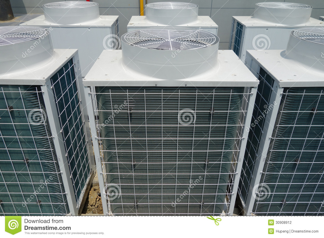 Air Conditioner Unit Stock Photography Image 30908912
