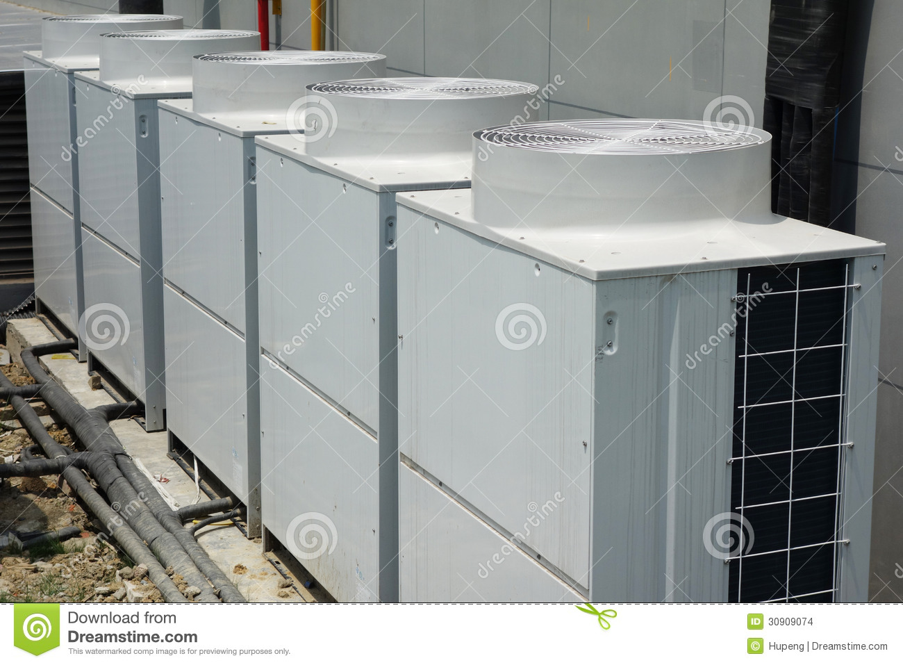 Air Conditioner Unit Stock Photo Image Of Cool Cooling