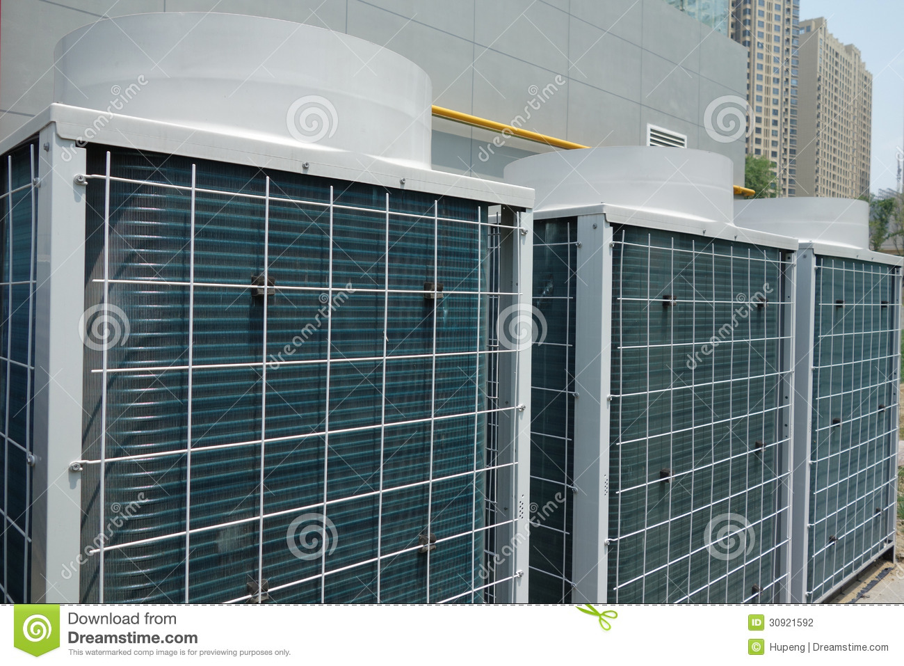 Air Conditioner Unit Stock Photography Image: 30921592 #6E673C