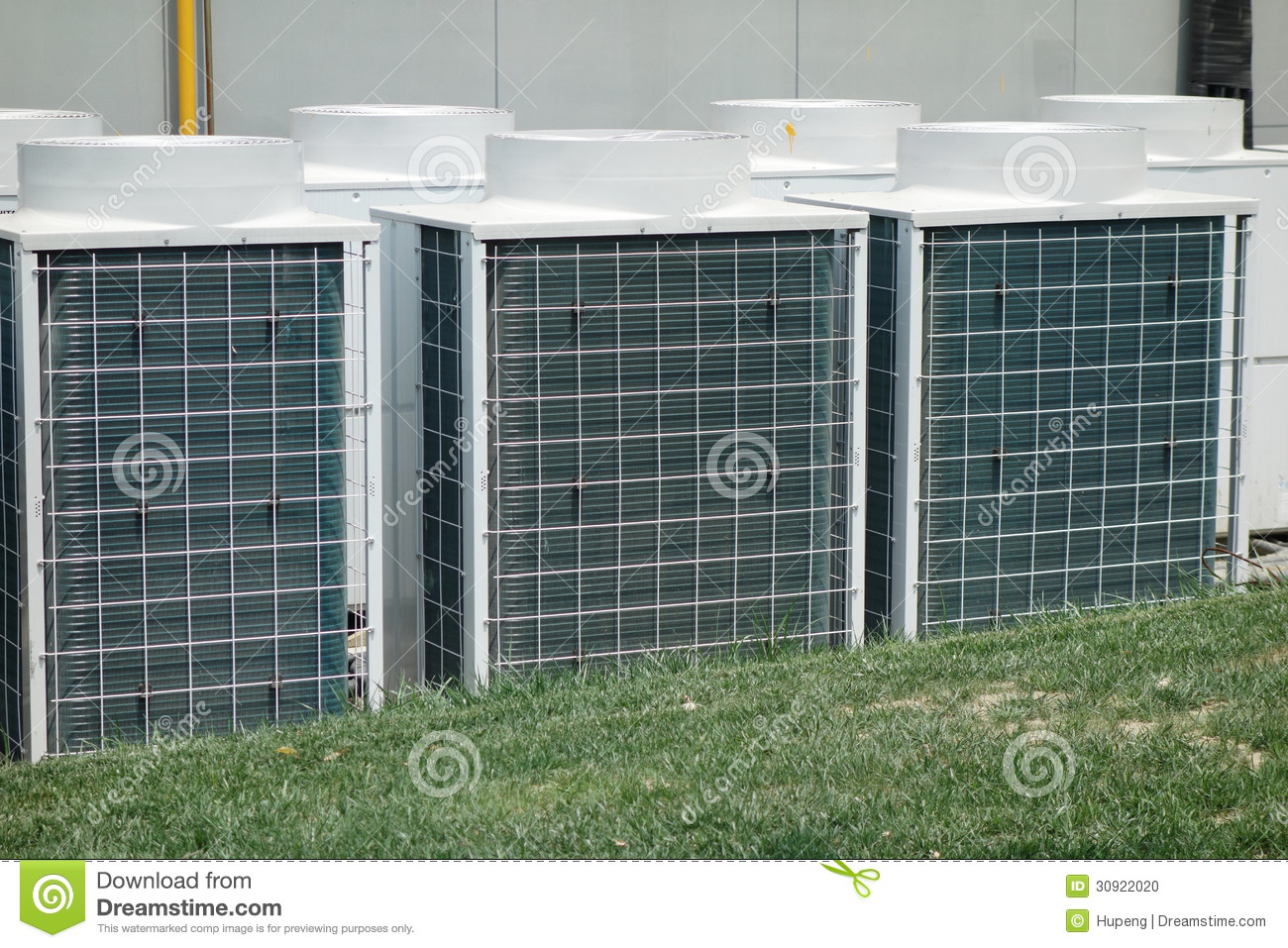 Air Conditioner Unit Stock Photo Image Of Central