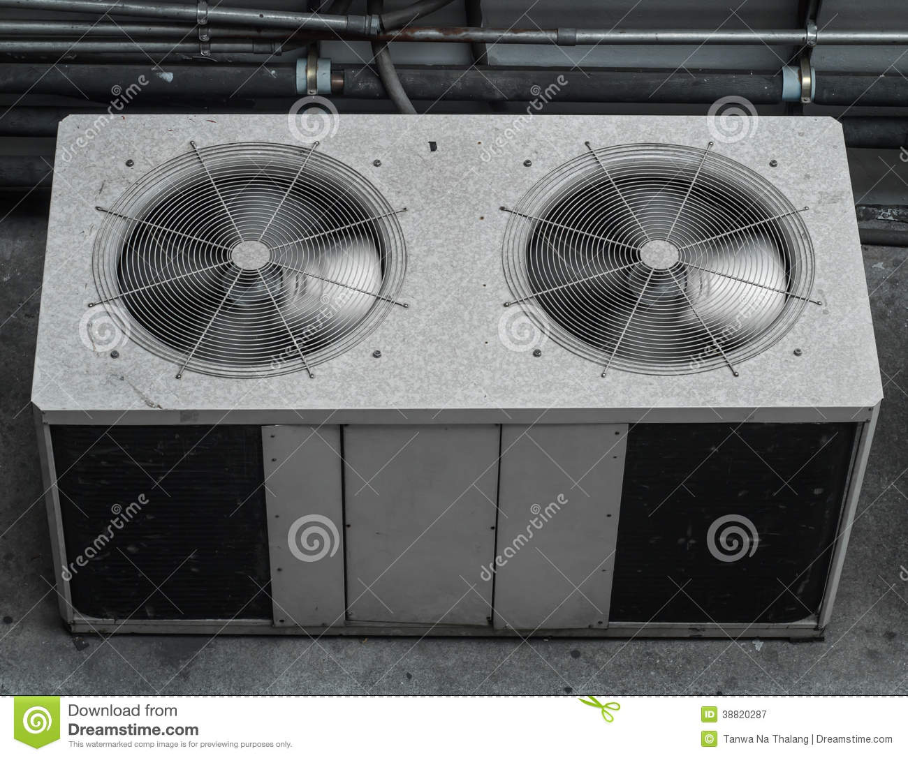 Air Conditioning Compressor Stock Image Image Of Cool