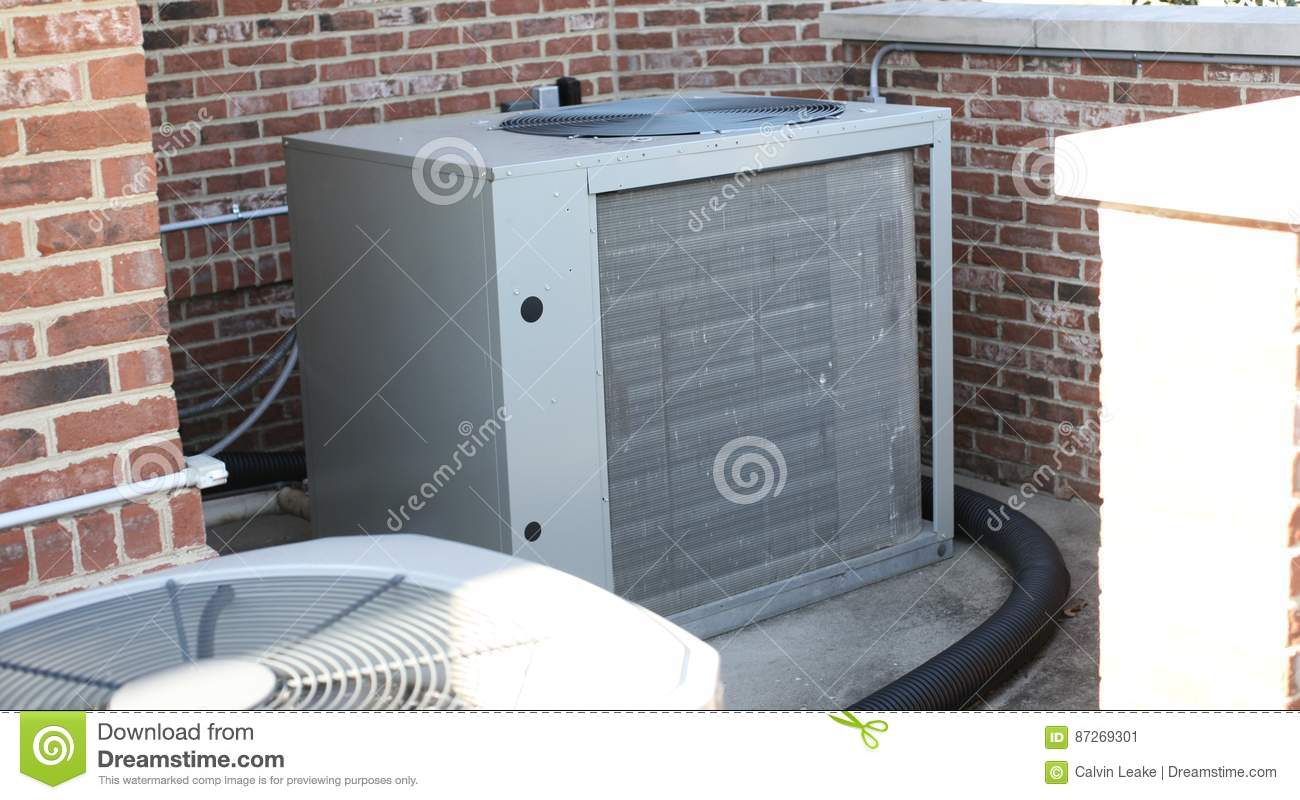 Air Conditioning Condenser Stock Image Image Of Frame 87269301