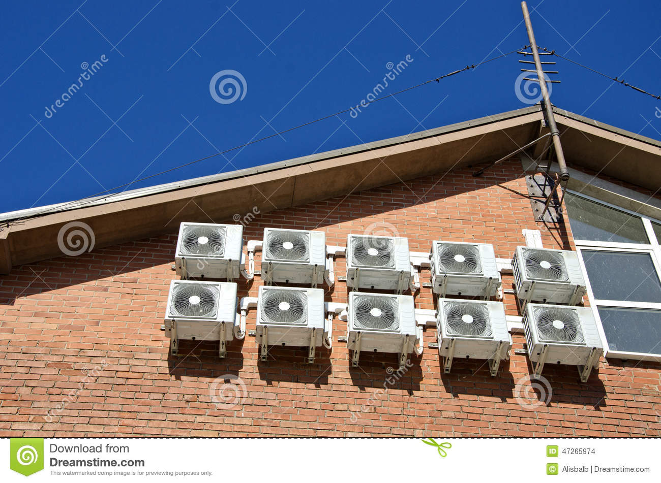 Air Conditioning Equipment Stock Photo Image: 47265974 #1D509D