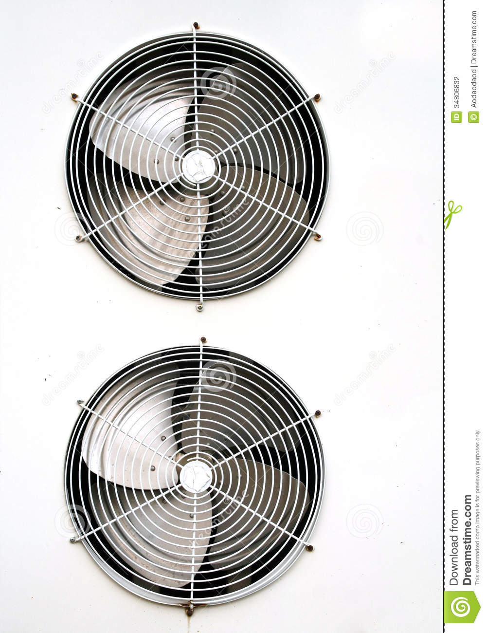 Air Cond Ventilator : Air conditioning fan stock photography image