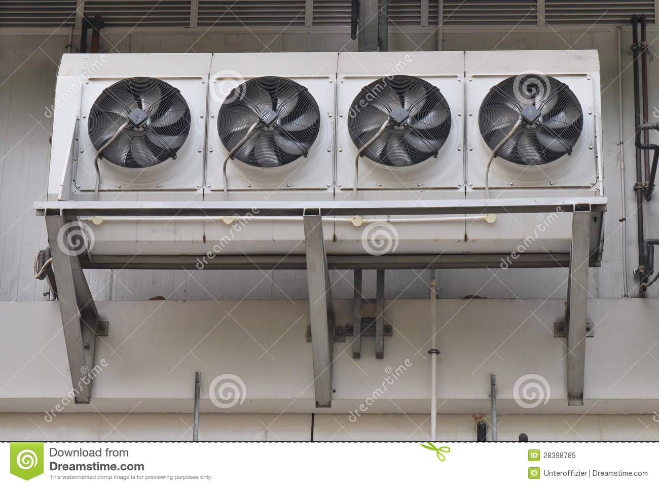 Air Conditioning Fans Stock Image Image Of Conditioning