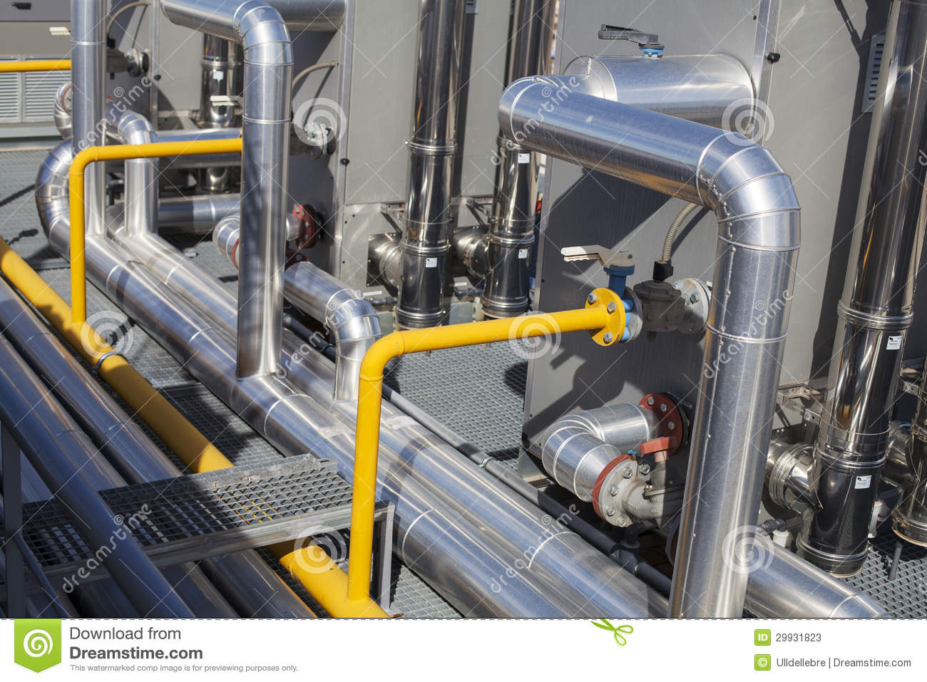 System Of Ventilating Pipes Stock Photos Image: 29931823 #BD950E