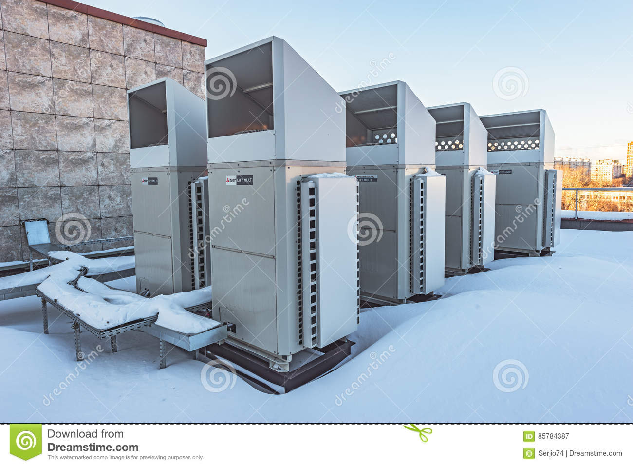 Installation of air conditioning in Moscow 51