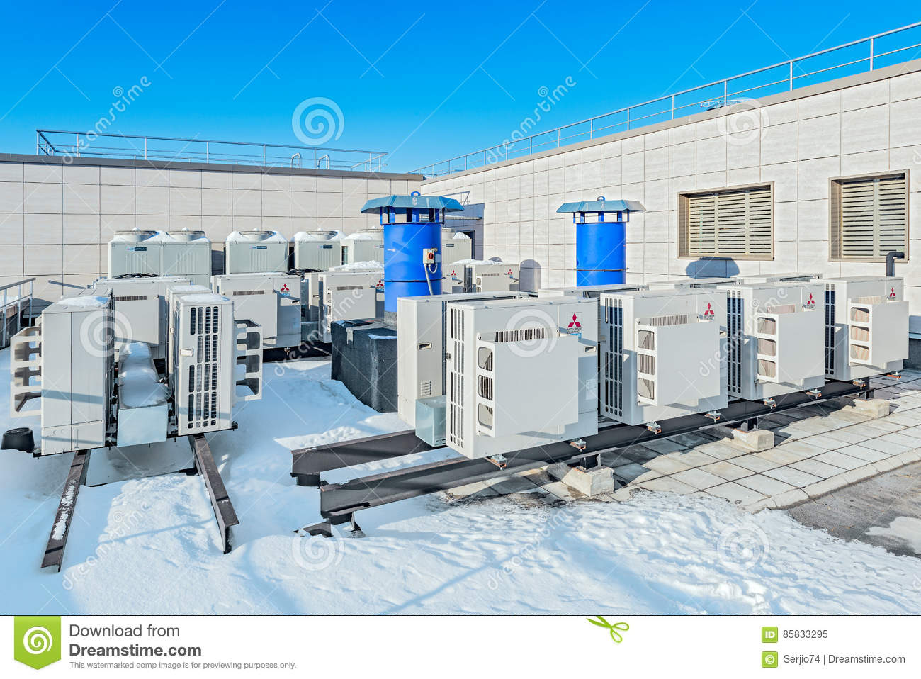 Installation of air conditioning in Moscow 74