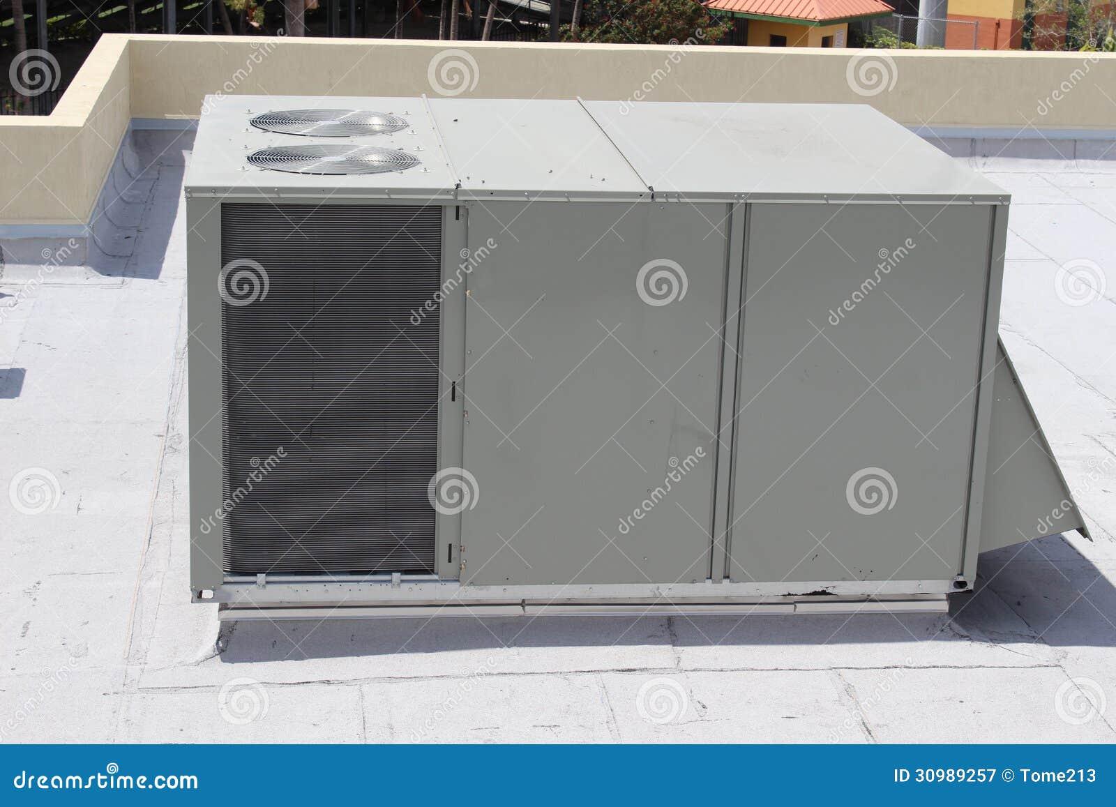 Air Conditioning Unit Air Conditioning Unit On Roof