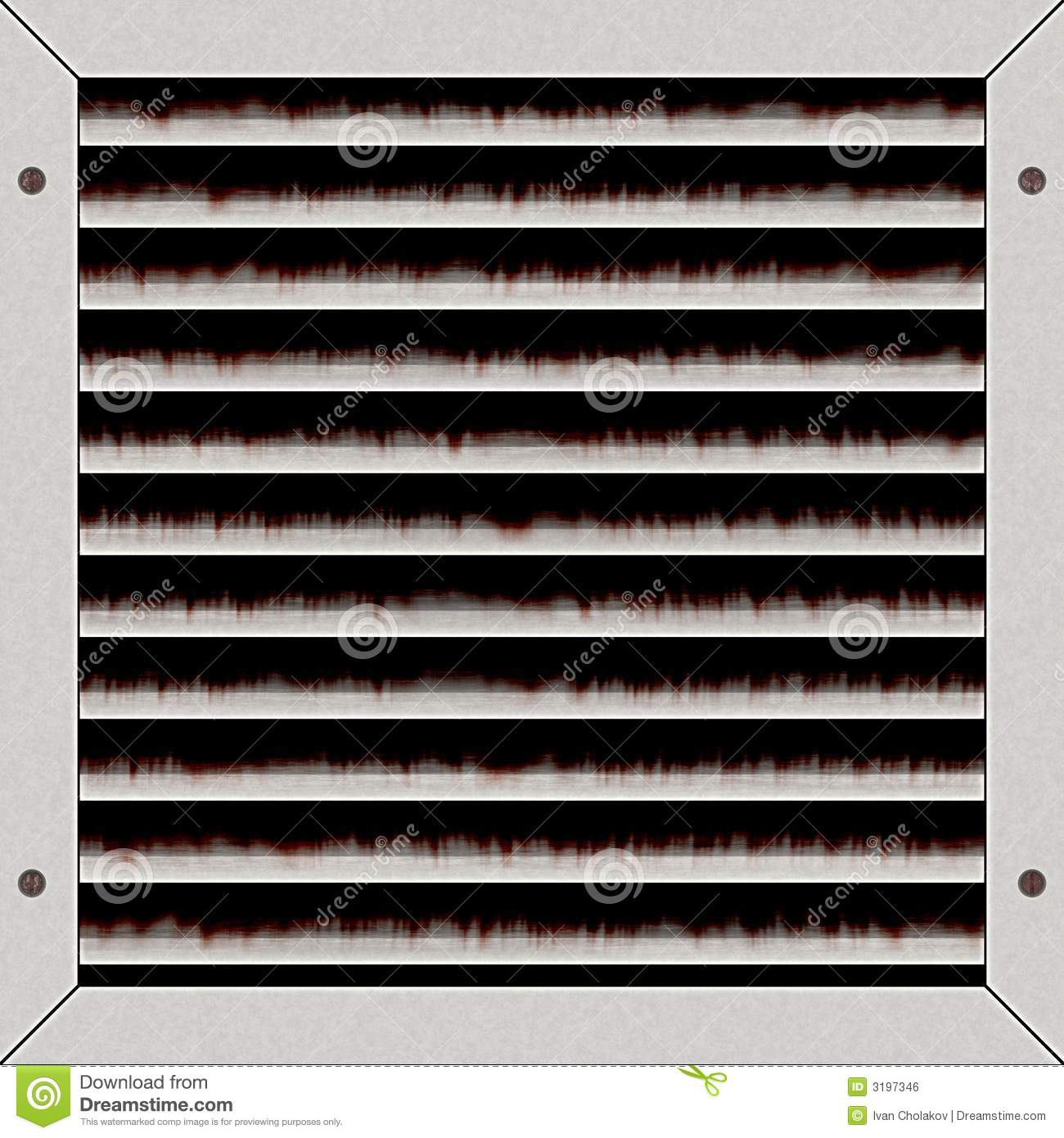 Air Conditioning Vent Stock Illustration Image Of Interior 3197346