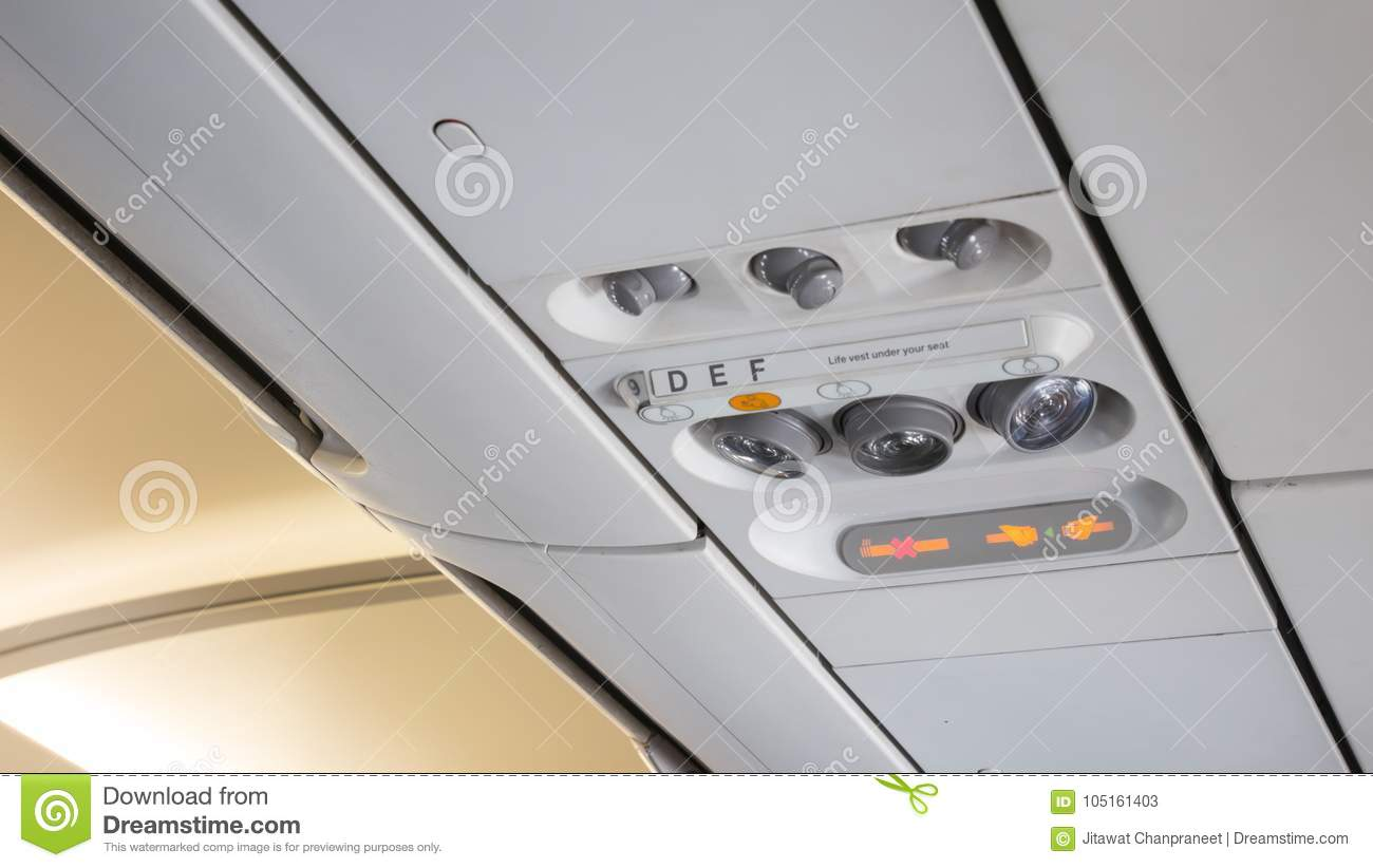 Air Control Knobs,light For Belt Warning Signals And Non-smoking On