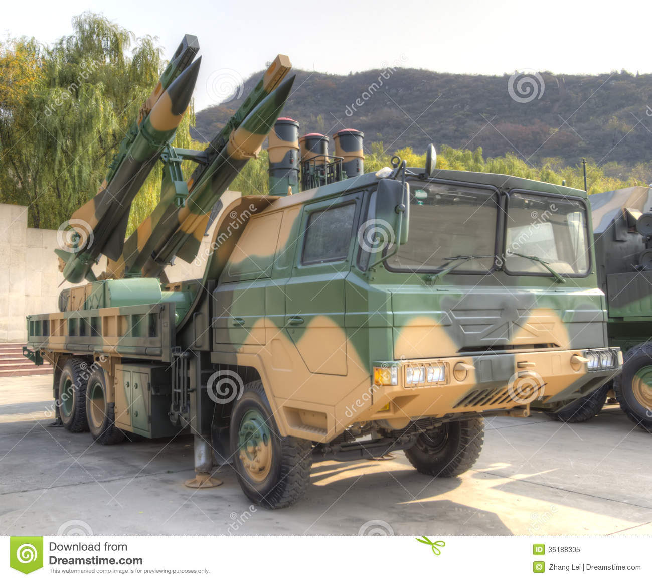 how to set up missile defense with mobile sams