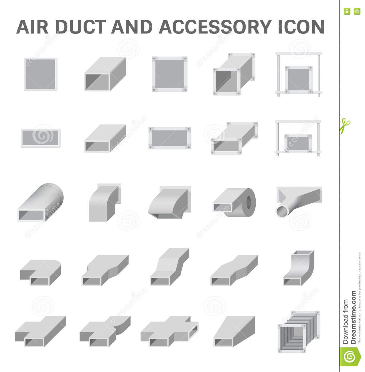 Air duct cleaning stock illustrations 68 air duct cleaning stock air duct icon vector icon of air duct and accessory for air conditioning or hvac buycottarizona Image collections