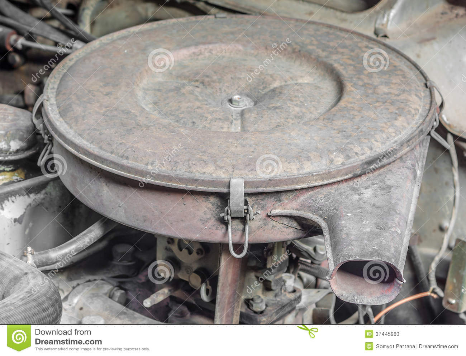 Engine Air Filter Housings : Filter housing industrial engine air