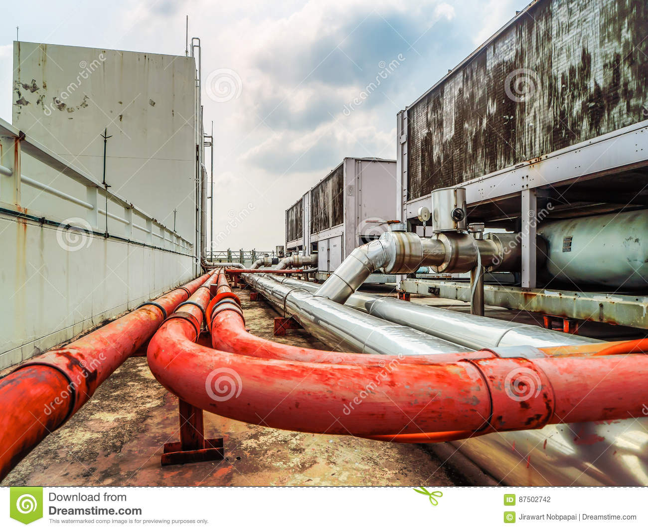Air, Fire And Water Tube System Stock Photo - Image of