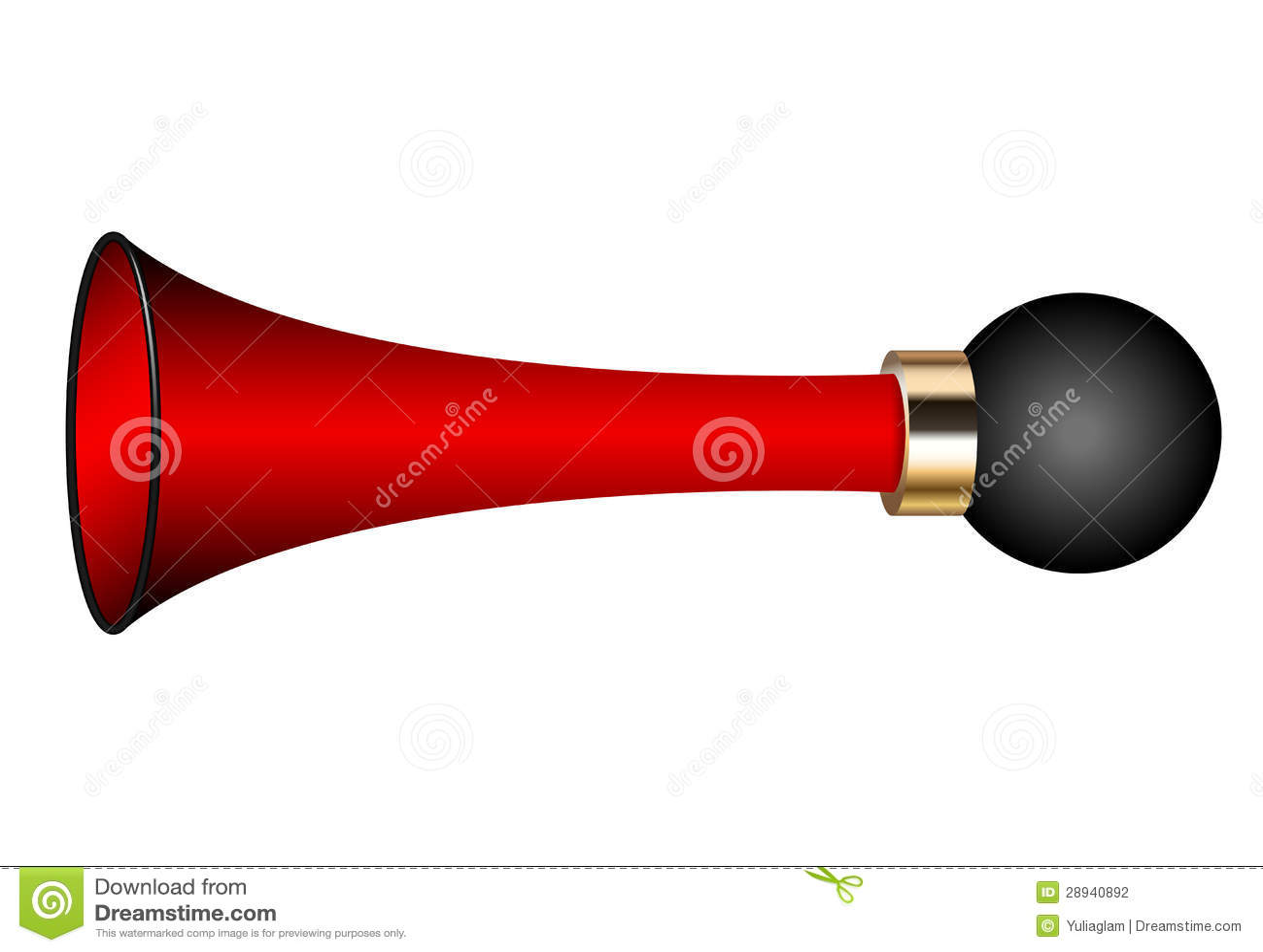Loud Car Horn >> Air horn stock vector. Illustration of loud, metal, ring ...