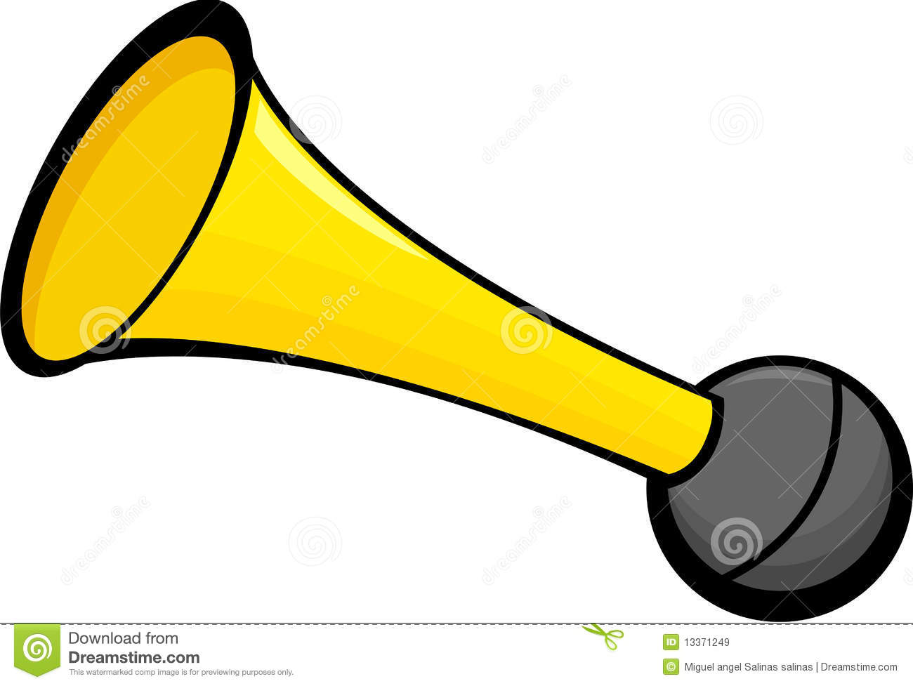 Air Horn Vector Illustration Royalty Free Stock Images - Image ...