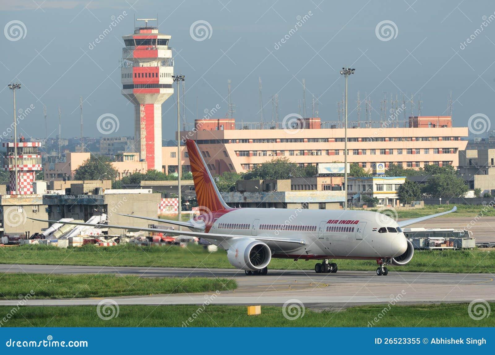 Air India primeiro Boeing 787 Dreamliner