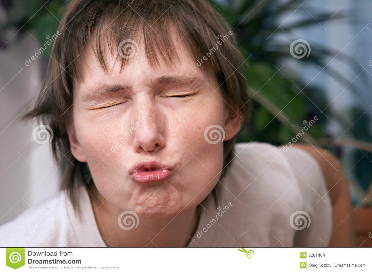 Air Kiss Stock Images - Image: 7281464