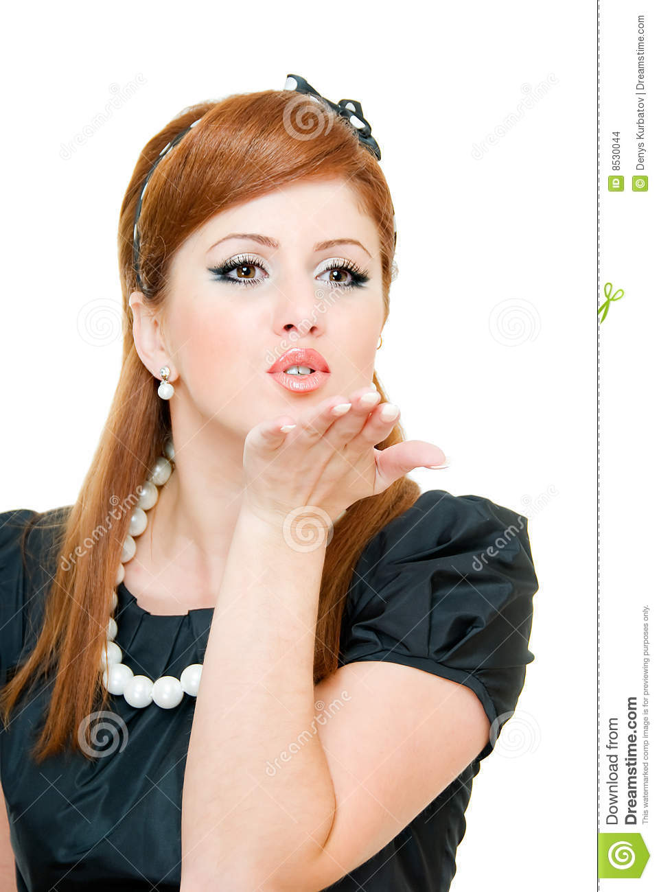Air Kiss Stock Images - Image: 8530044