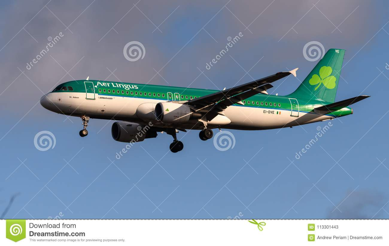 Air Lingus Airlines Airbus A320