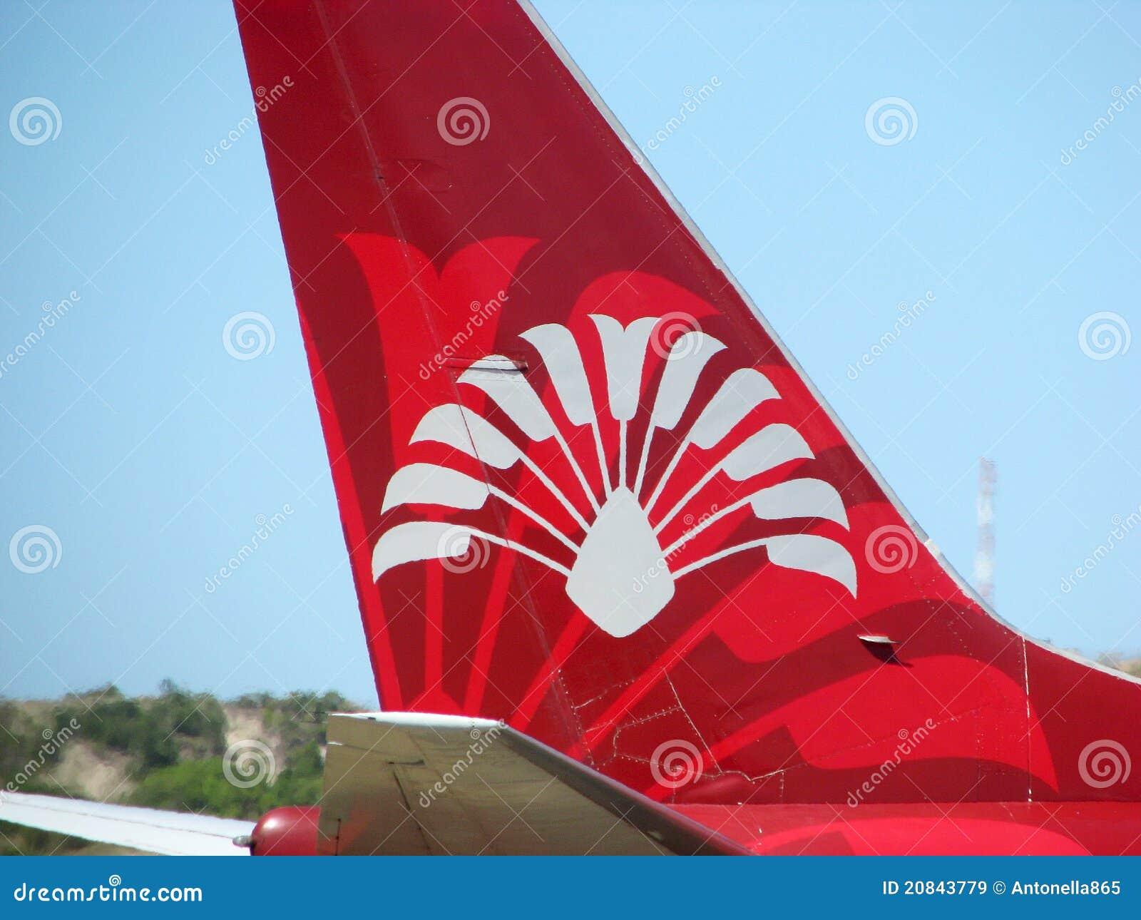 air madagascar logo editorial stock image