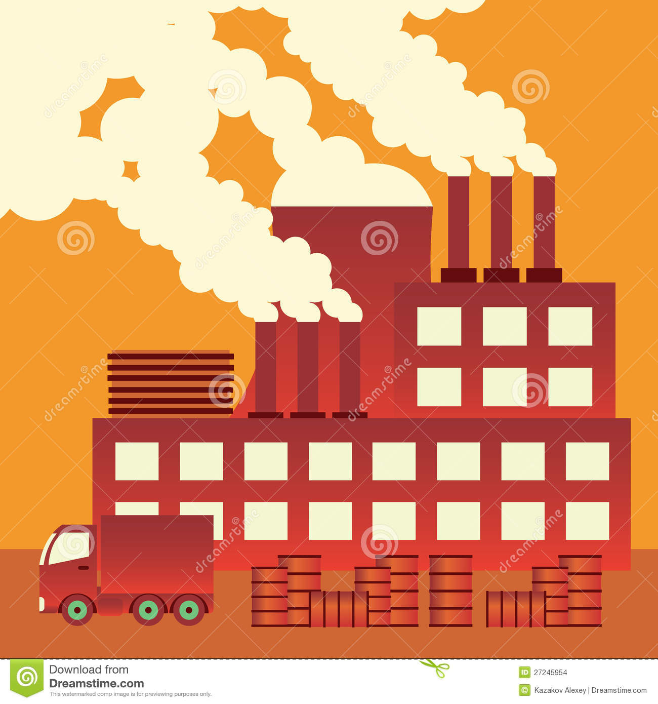 industrial pollution clipart - photo #34