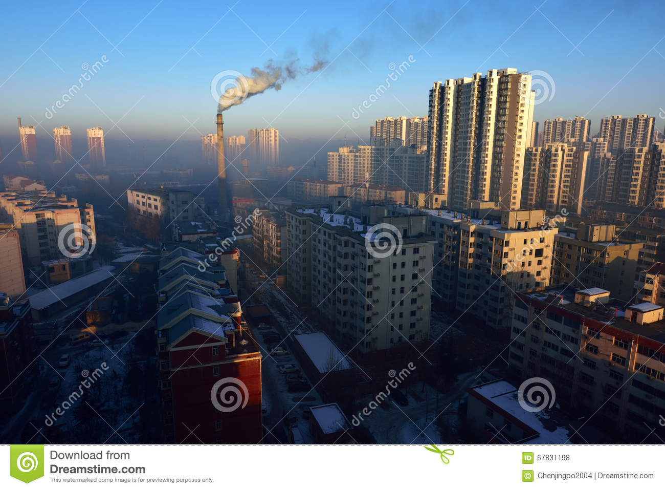 Air Pollution Stock Photo Image 67831198