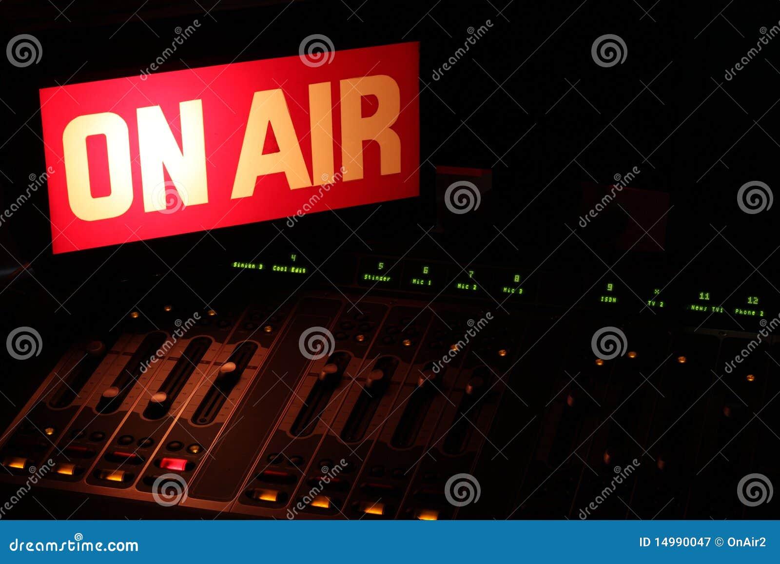 On Air Radio Studio Horizontal