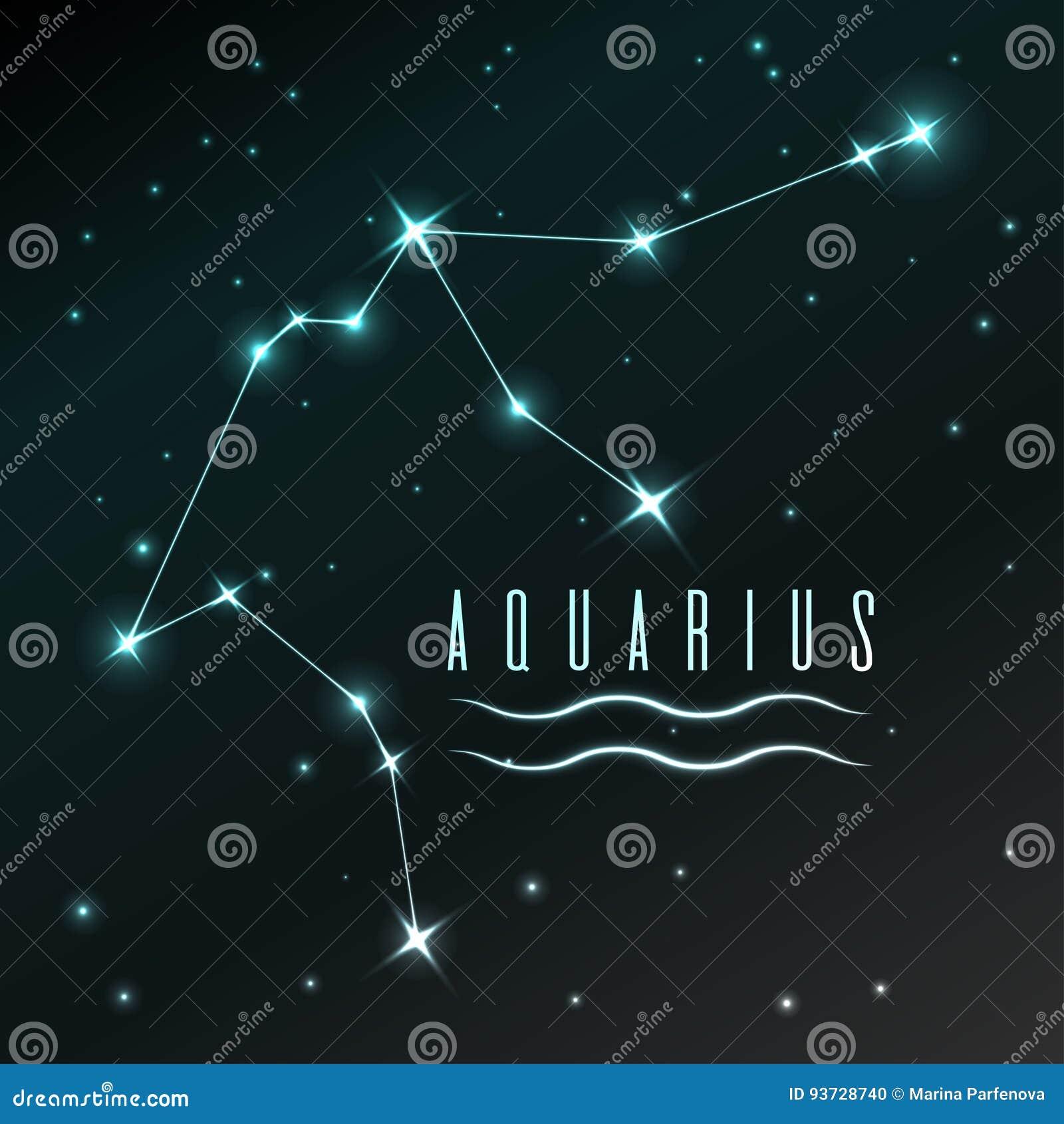 Air Symbol Of Aquarius Zodiac Sign Horoscope Vector Art And